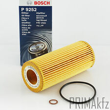 Bosch 1 457 429 252 Oil Filter BMW E46 E90 E91 E60 5er E60 E61 X3 X5 2.5 3.0 D