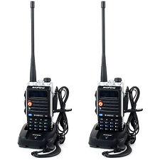2 Pcs 8W 4800mAh Li-ion Battery Baofeng Dual Band Two Way Radio BF-UVB2 Plus