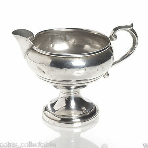 Vintage Creamer Bowl by F.B. Rogers Silver Company #135 - Sterling Silver