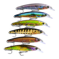 GI- Durable Lifelike Shape Artificial Fish Bait Tackle Tool Fake Fishing Lure