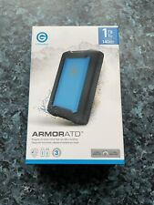 G-Technology ArmorATD 1TB Portable Drive *NEW*
