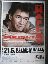PETER MAFFAY 2011 MÜNCHEN   orig.Concert-Konzert-Tour-Poster-Plakat DIN A1