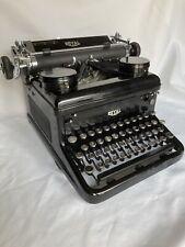 Vintage Royal KHM Typewriter 1937 1938 Model Super Clean! Works Great