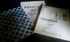 3 Vintage Murata Japan Pielefork Tuning Ceramic Filters Thermistor Brochures