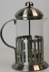 Coffee or Tea Plunger 8 Cup 800ml Stainless Steel Glass   Filter Press