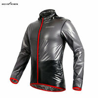 Cycling Jersey Windproof Waterproof Lightweight Bike Wear Rain Coat Riding Tops