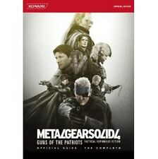 Metal Gear Solid 4: Guns of the Patriots Official Guide book The Complete /PS3