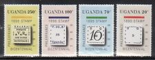 Uganda 681-84 Stamp on Stamp Mint NH