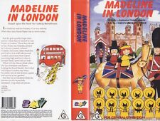 MADELINE IN LONDON VHS VIDEO PAL~ A RARE FIND