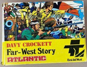 ATLANTIC 1/32nd DAVY CROCKETT Wild West Story!!!  Complete in Box!!