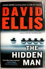THE HIDDEN MAN David Ellis 1st Edition 2009 Mystery Hardcover & Dust Jacket