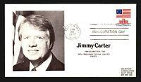 1977 Carter Inauguration Cover - Plains GA CDS - Z14263