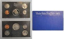 10 set Lot OGP Ten 1971-S United States Proof Sets