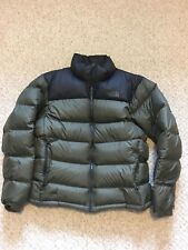 North Face Nuptse 2 vert & Tnf Black Goose Down 700 Veste