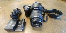 Nikon D D40 6.1MP Digital SLR Camera Kit w/ AF-S DX ED G 18-55mm Lens & Charger