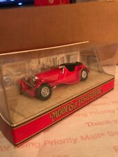 MATCHBOX MODELS OF YESTERYEAR 1990 RED Y1G 1936 JAGUAR SS100 MINT BOXED