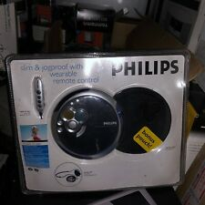 New Philips Ax5319/17 Slim&Jogproof Wearable Remote Control Personal Cd Player