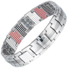 Pure 100% Titanium Magnetic Therapy Bracelet Pain Relief Arthritis Carpal Tunnel
