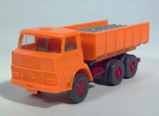 Wiking 1:87 Henschel Cabover Dump Truck Construction Tipper w/ Load Sliding Bed