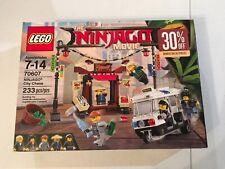 LEGO THE NINJAGO MOVIE SET 70607 CITY CHASE