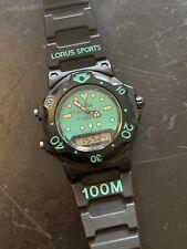 NOS! Seiko Lorus Ana Digi Dive Watch V041-6000 Retro Arnie - New Battery!