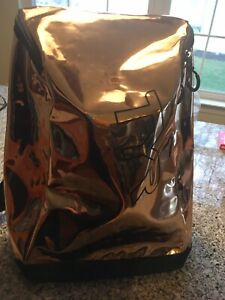 TYR Swimbag/ Get Down Backpack/Never Used/ Bronze/Red/16x13