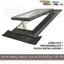 Lucernario / Finestra per tetto - CLASSIC VASISTAS 48x72 (Apertura tipo Velux)