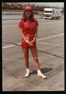 Vintage Photo MISS WINSTON 1984 VAN SCOY 500 POCONO INT'L. RACEWAY Orig. Candid
