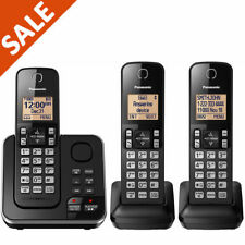 Panasonic DECT 6.0 3 Handset Digital Cordless Phone w/ Answering System - NEW!!!