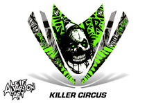 Decal Graphic Kit Arctic Cat M Series AC Crossfire Snowmobile Hood Wrap CIRCUS G