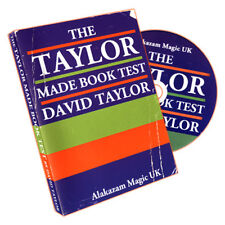The Taylor Made Book Test By David Taylor and Alakazam Magic