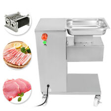 110V 500KG Output Meat Cutting Machine Meat Cutter Slicer with One Blade in USA