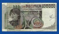 BANCONOTA 10 000 LIRE BUSTO DEL CASTAGNO SERIE QC 464071 C