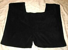 LILLY OF CALIFORNIA SIZE PLUS 3X BLACK VELVET NEW/TAGS 50% RAYON-50%POLYESTER