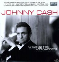 Johnny Cash - Greatest Hits & Favorites [New Vinyl] Holland - Import