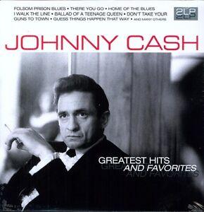 Johnny Cash - Greatest Hits & Favorites [New Vinyl LP] Holland - Import