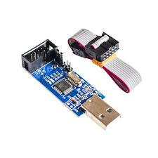 USBASP USBISP AVR Programmer Adapter 10 Pin Cable USB ATMEGA8 ATMEGA128 -