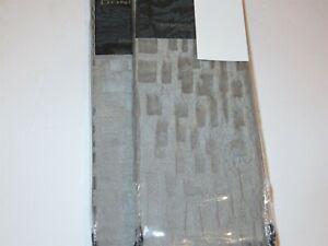 2 Donna Karan Fuse standard shams Silver NIP $330