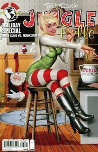 Jingle Belle Holiday Special #1 Comic 2008 - Image Comics  Santa Claus Christmas