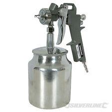 SILVERLINE 196536 Spray Gun Suction Feed 750ml