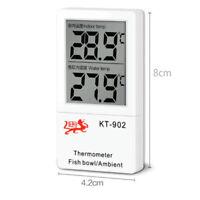 KT-902 LCD Fish Tank Aquarium Thermometer Submersible Water Temperature Meter