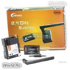 Corona 2.4Ghz CT8J Module & CR8D 2.4GHz DSSS 8CH Receiver for JR TZ FM RC Model