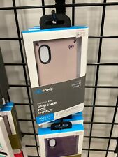 Speck Presidio Pro Impactium Case for iPhone XS X Meadow Pink / Vintage Purple