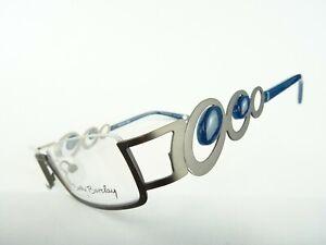 Betty Barcley ausgefallenes Design Damenbrillen schmal nur mit Unterrand Gr. M