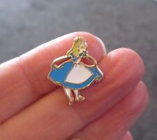 Pack of 2 Alice in Wonderland Flatback metal Pendant Charm in Blue 20mm x 20mm