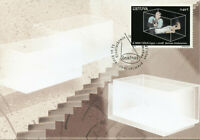 Lithuania Art Stamps 2019 FDC Eimuntas Nekrosius Theatre Pushkin 1v Set