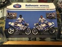 ROTHMANS HONDA SUPERBIKE RACING TEAM FEATURING MAL CAMPBELL AND MICHAEL O'CONNOR