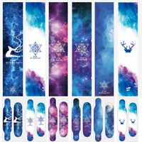 Aurora Skateboard Longboard Penny Cruiser Board Grip Tape Sticker Diamond Sheet