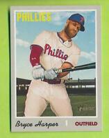 2019 Topps Heritage - Bryce Harper (#534)   Philadelphia Phillies