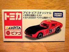 New ! TOMICA TOYOTA  2000GT APITA Vietnam FLAG  PIAGO Original Japan !